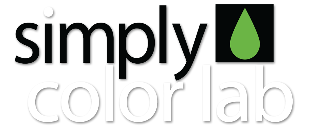 simply color lab logo
