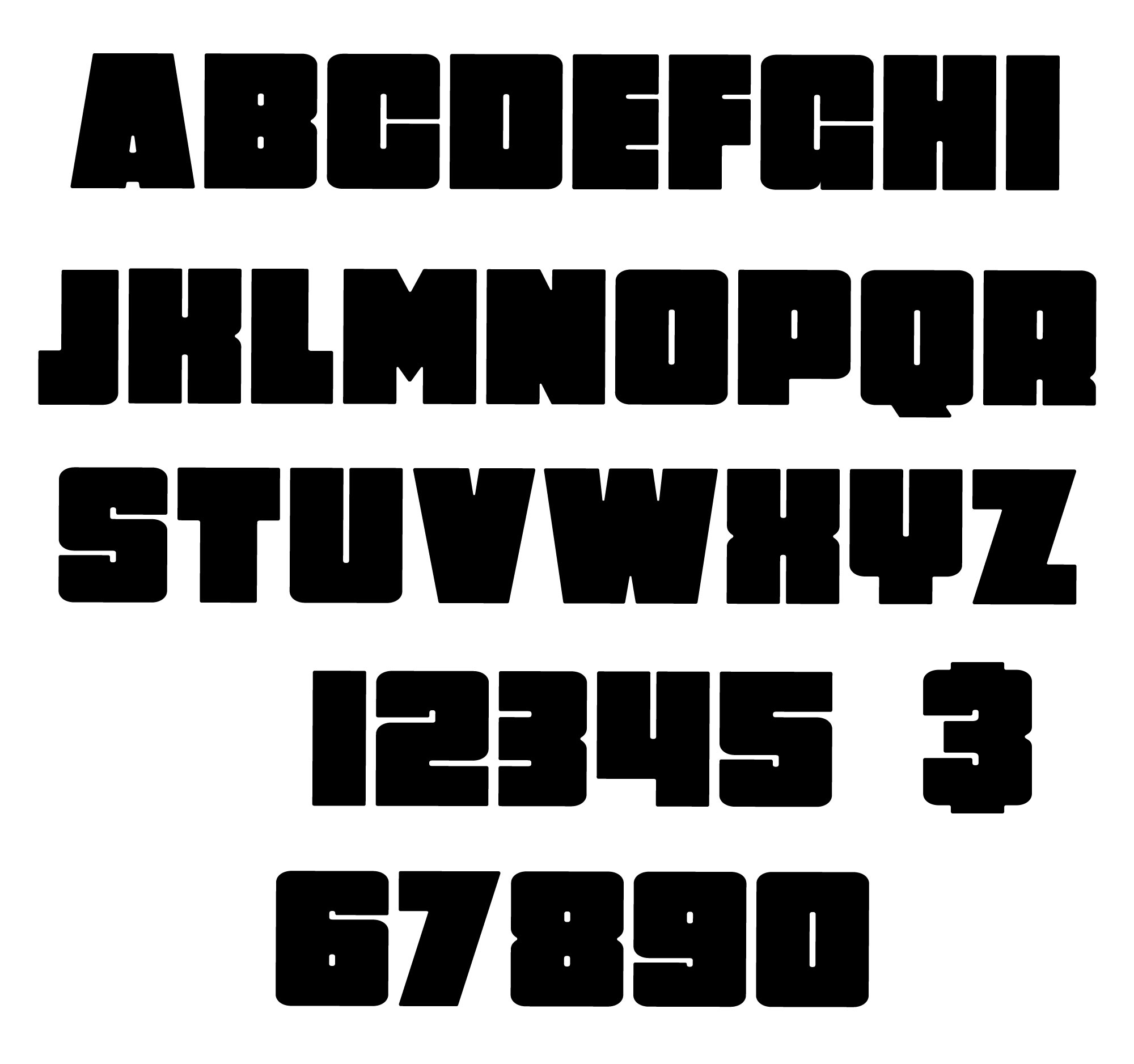 heritage wood letters numbers simply color lab